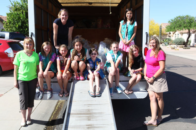 Ahwatukee Girl Scouts donate Easter baskets