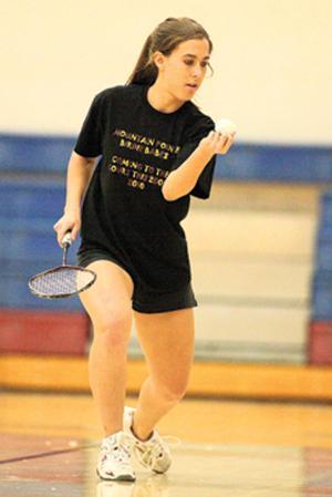 Pride duo sweeps doubles badminton championship