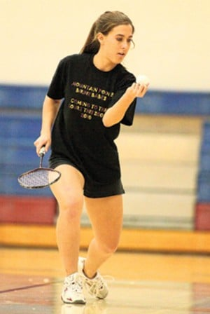 Pride duo sweeps doubles badminton championship