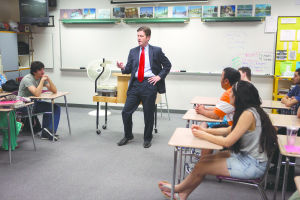 Mayor speaks at MPHS