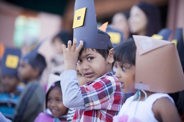 Montessori Thanksgiving Program