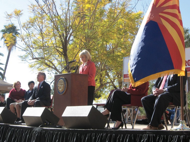Arizona celebrates 99th birthday