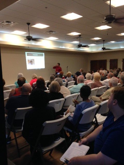 Nearly 100 homeowners turned out for an ABM-sponsored presentation Feb. 8