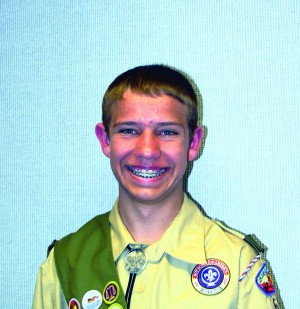 Hutchins becomes Eagle Scout