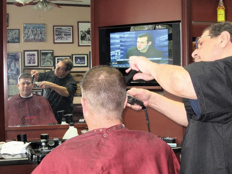 Quality Barbershop, northeast of 48th Street and Chandler Boulev