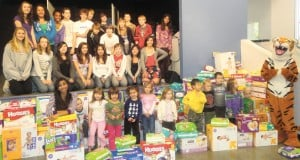 Summit School diaper drive