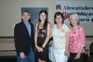 ARW Marjorie Miner Scholarship winner Lacey Jean Morris