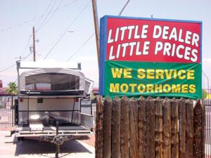 Little Dealer, Little Prices RV