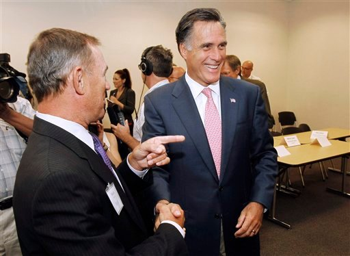 Mitt Romney, Michael Hannley