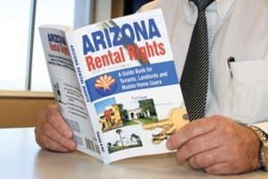 'Arizona Rental Rights' result of author's own problem