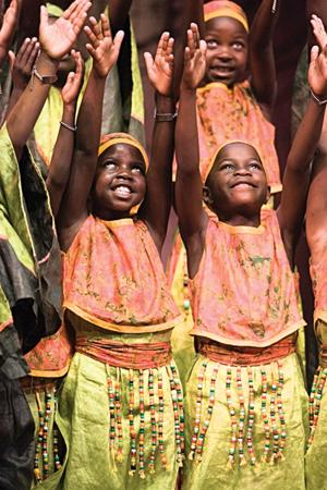 African Children's Choir to perform Sunday in AF