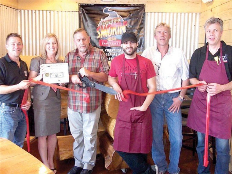 Can't Stop Smokin' BBQ Ribbon Cutting