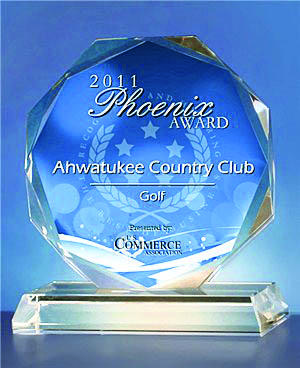 Ahwatukee Country Club Receives 2011 Phoenix Award