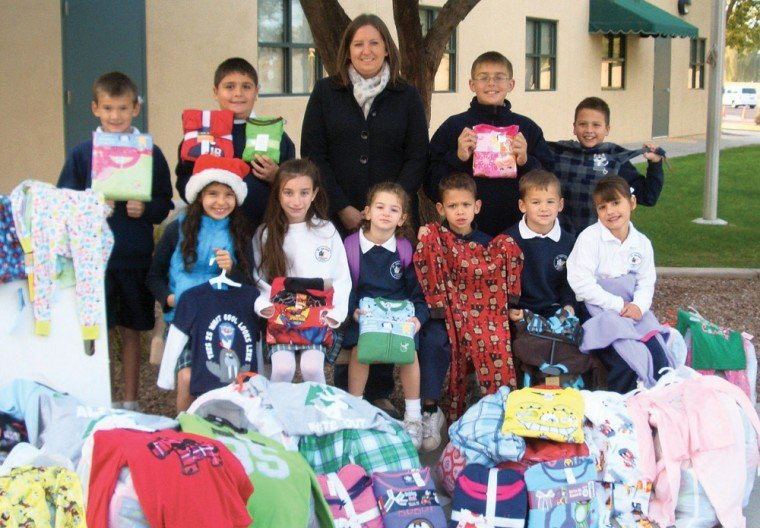 St. John Bosco collection pajamas for a worthy cause