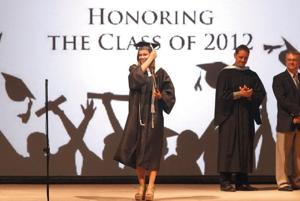 2012 Horizon Honors graduation