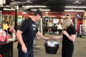 The BAR Fitness silent auction