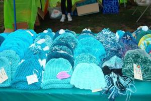 Teal hats