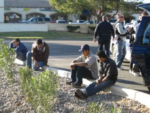 Police detain suspected 'coyotes'