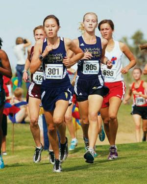 Desert Vista girls cross country