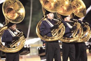 Desert Vista marching band
