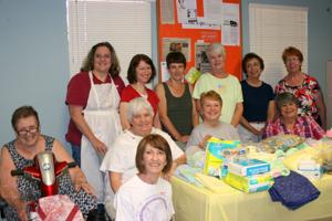Volunteers at the Newborns in Need: Big Baby Shower in 2014