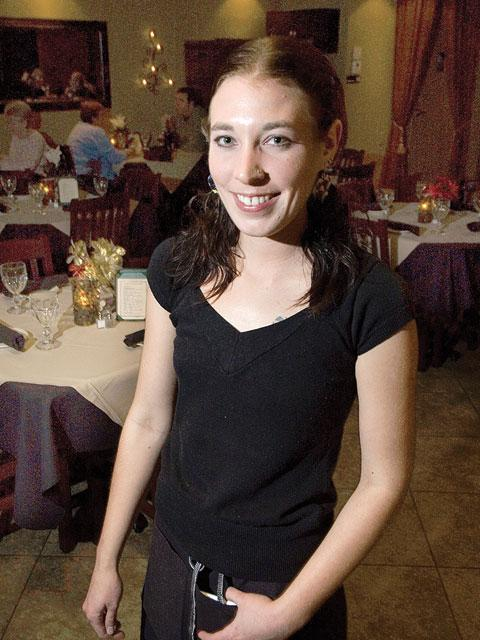 Best Waiter/Waitress 2008: Emily Ellis (That Italian Place)