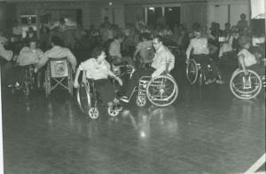 Wheelchair square dancing