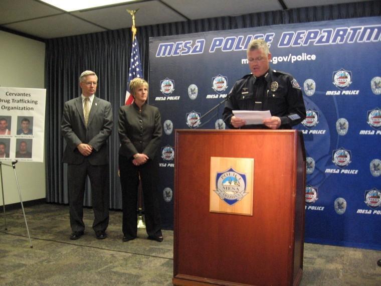 Mesa PD, DEA press conference