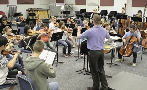 Mountain Pointe Lionhearts perform at All State Band & Orchestra