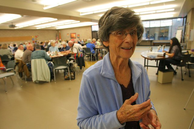 Senior center on chopping block