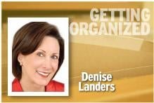 Getting Organized Denise Landers
