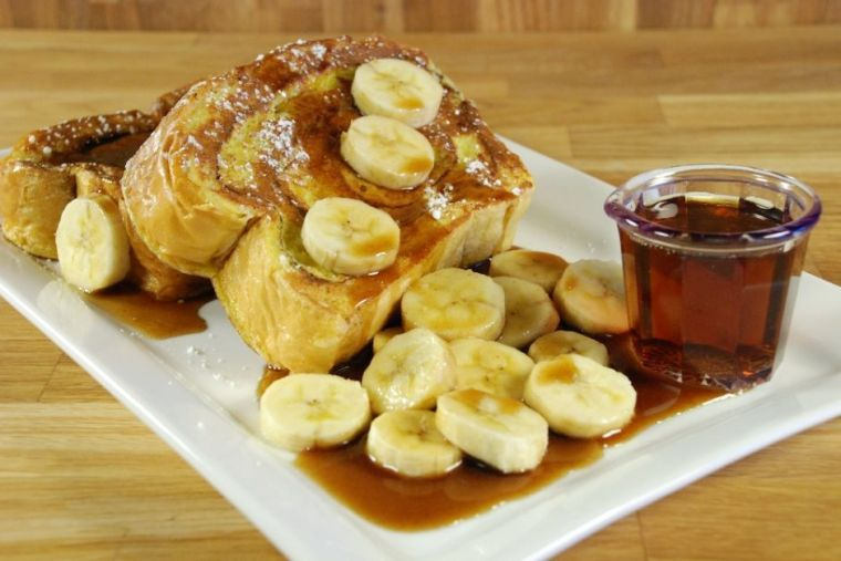 Ncounter's Bananas Foster French Toast
