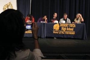 Desert Vista signing