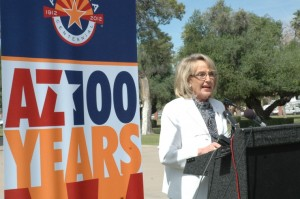 Jan Brewer Arizona Centennial
