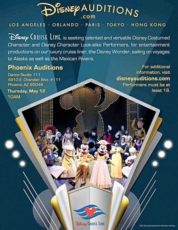 Disney auditions