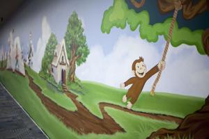 Kyrene de la Colina mural