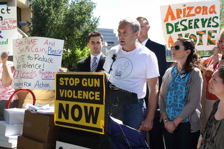 Stronger gun control laws