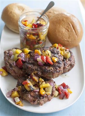 Food Meatloaf Burgers