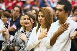 End of the long road: 199 immigrants become Americans at Cerritos