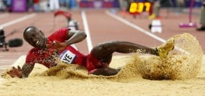 Will Claye earns silver in triple jump