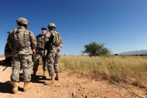 National Guard on border