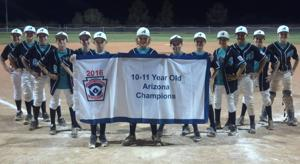 <p>The Ahwatukee Little League 10-11 All-Star squad won the state title on Wednesday.</p>