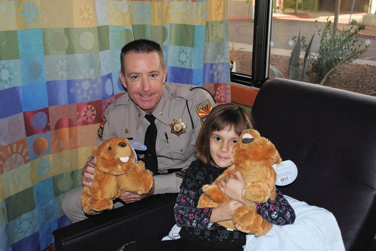 Highway Patrol Christmas bear program