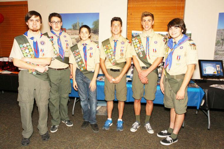 Boy Scout Troop 118 advances 6 Eagle Scouts