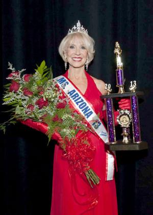 Lee Lotze named 2013 Ms. Senior Arizona