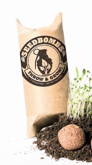 Gardening Seed Bombs