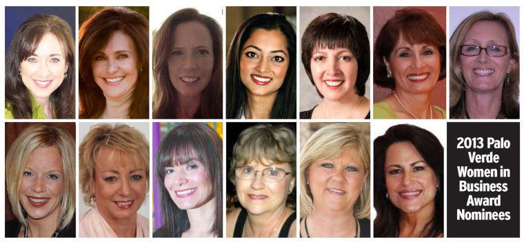 2013 Palo Verde Women in Business Award Nominees