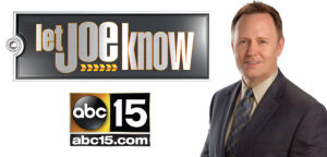 """<p><strong>Joe Ducey is now helping people like you everyday on ABC15 News at 6pm. If you've got a consumer issue you can't solve, """"Let Joe Know."""" Contact him at joe@abc15.com or (855) 323-1515.</strong></p>"""