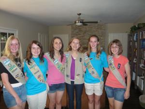 Ahwatukee Girl Scout troop inducted into National Honor Society