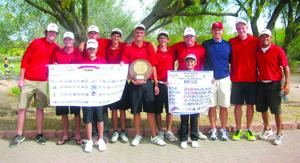 Mesa Community College men's golf team